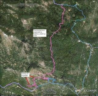 7th Učka Mountain Trek 2009, komparacija APaliska vs Zohar, do KT1