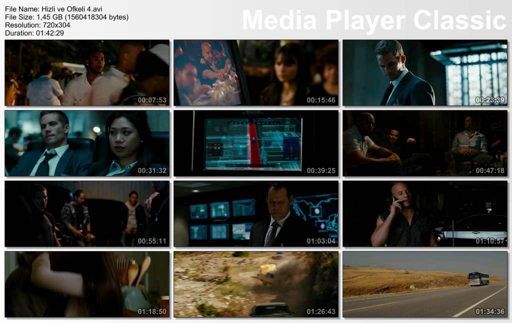 Hızlı ve Öfkeli 4 - 2009 DVDRip XviD AC3 - Türkçe Dublaj indir